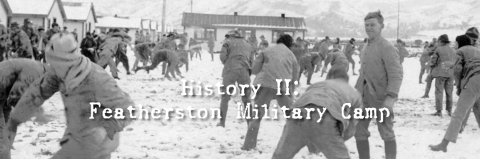History II: Featherston Military Camp